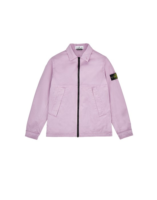 STONE ISLAND JUNIOR 10711 Over Shirt Herr Rosenquarz