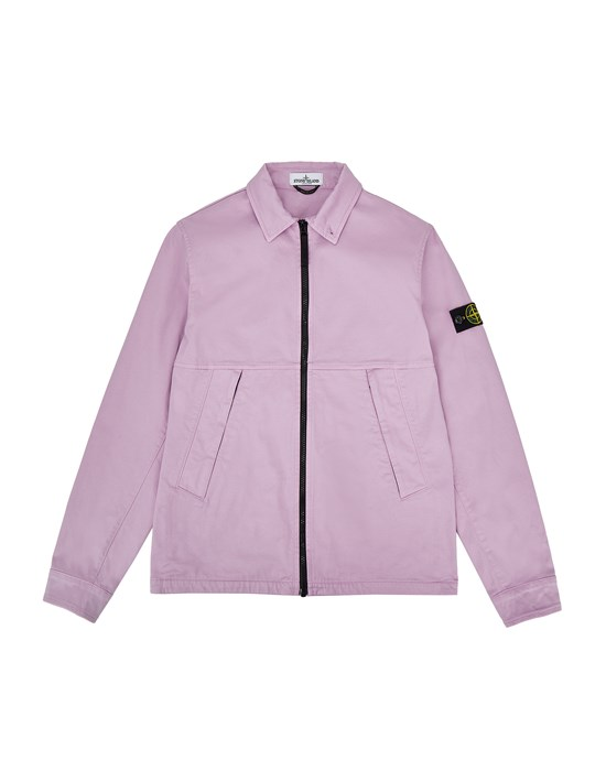 STONE ISLAND JUNIOR 10711 Over Shirt Man Pink Quartz