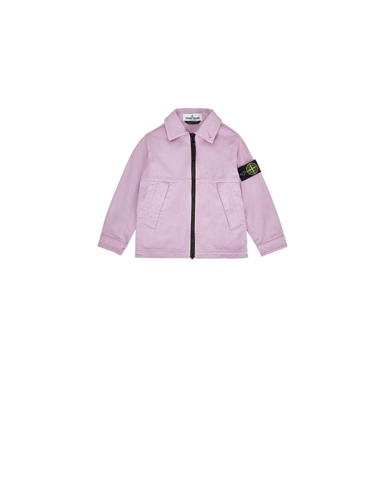 STONE ISLAND BABY 10711 Over Shirt Man Pink Quartz