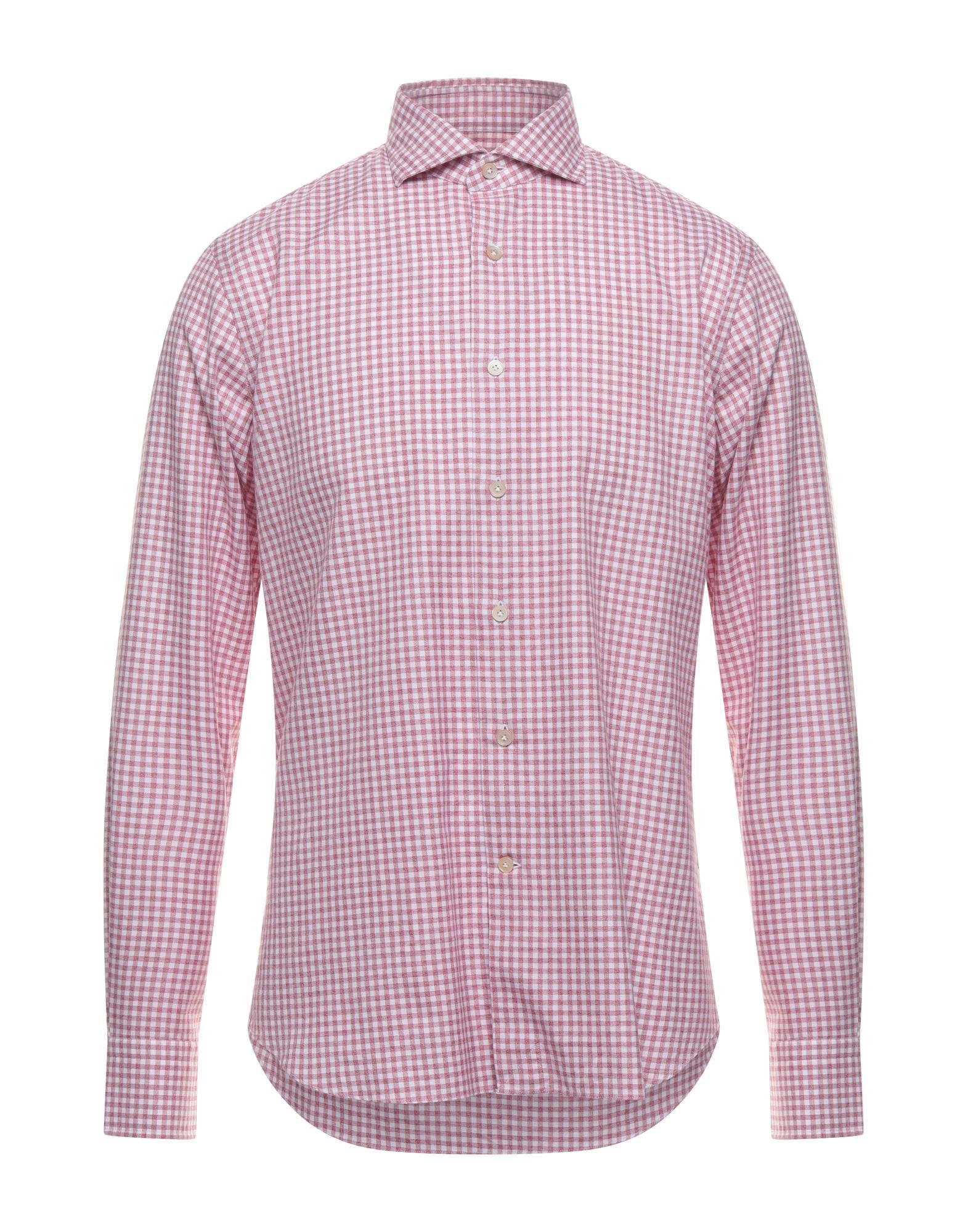 Alessandro Gherardi Shirts In Maroon