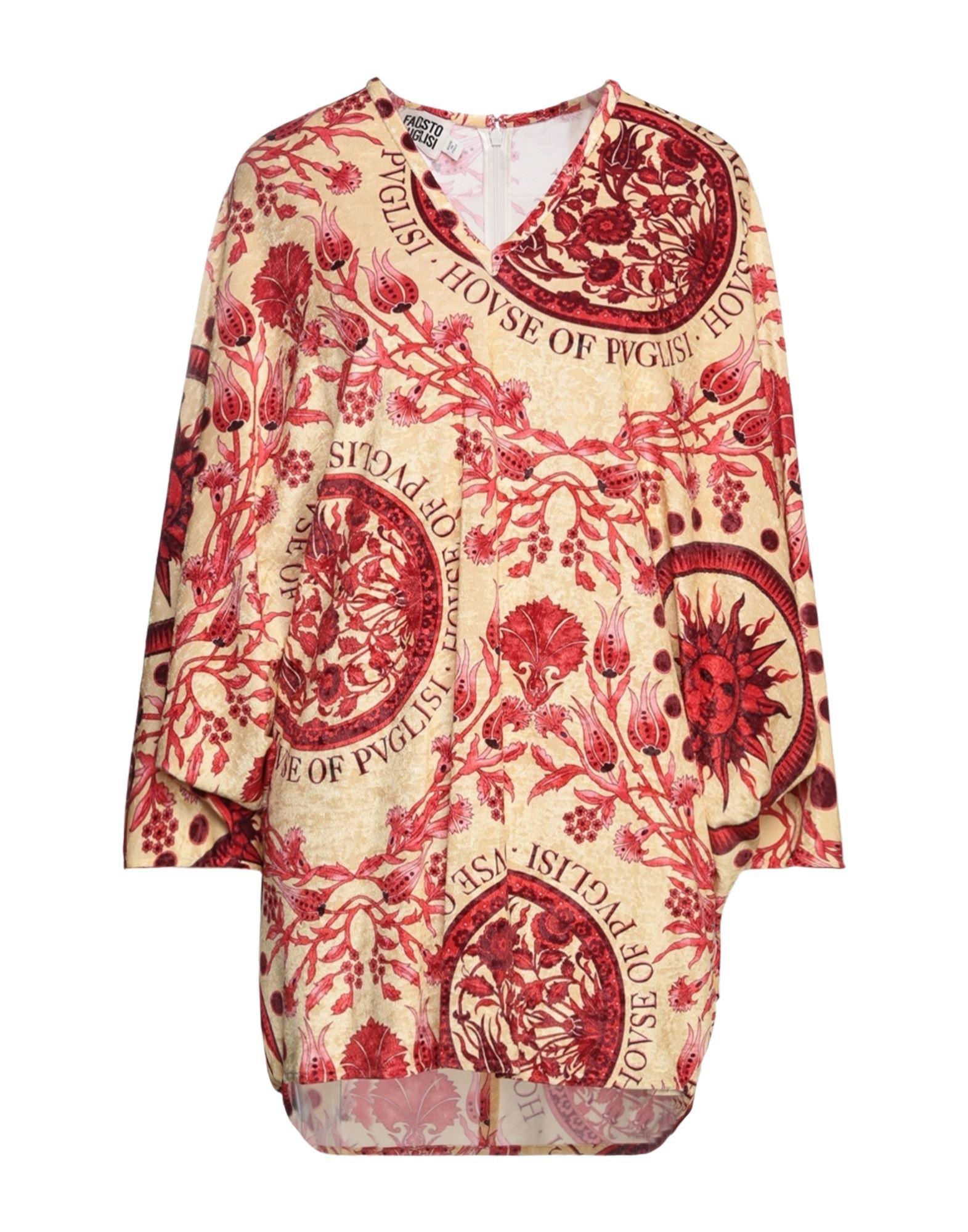 Фото - FAUSTO PUGLISI Короткое платье fausto puglisi пиджак