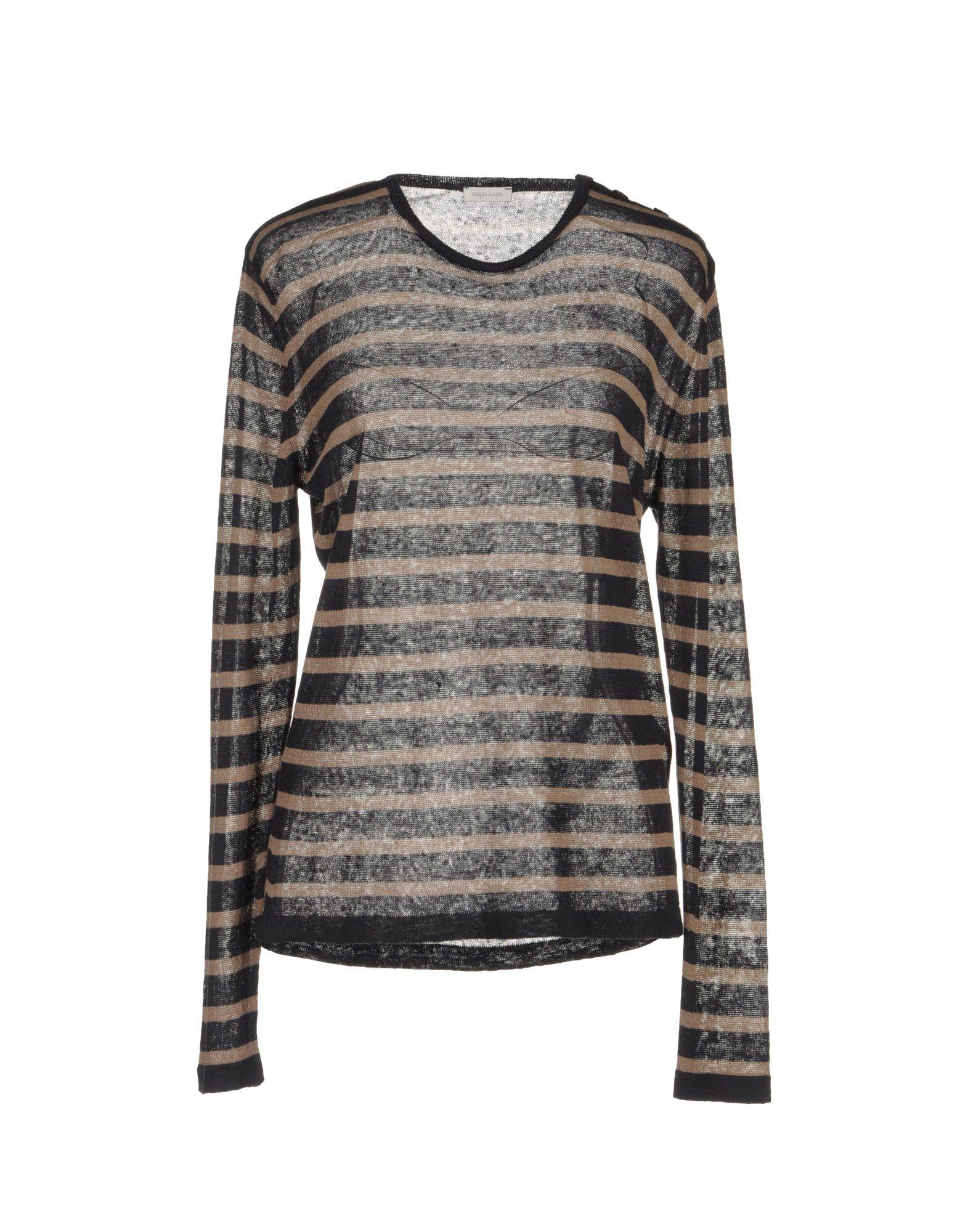 GOLD CASE Свитер с длинными рукавами european culture свитер с длинными рукавами
