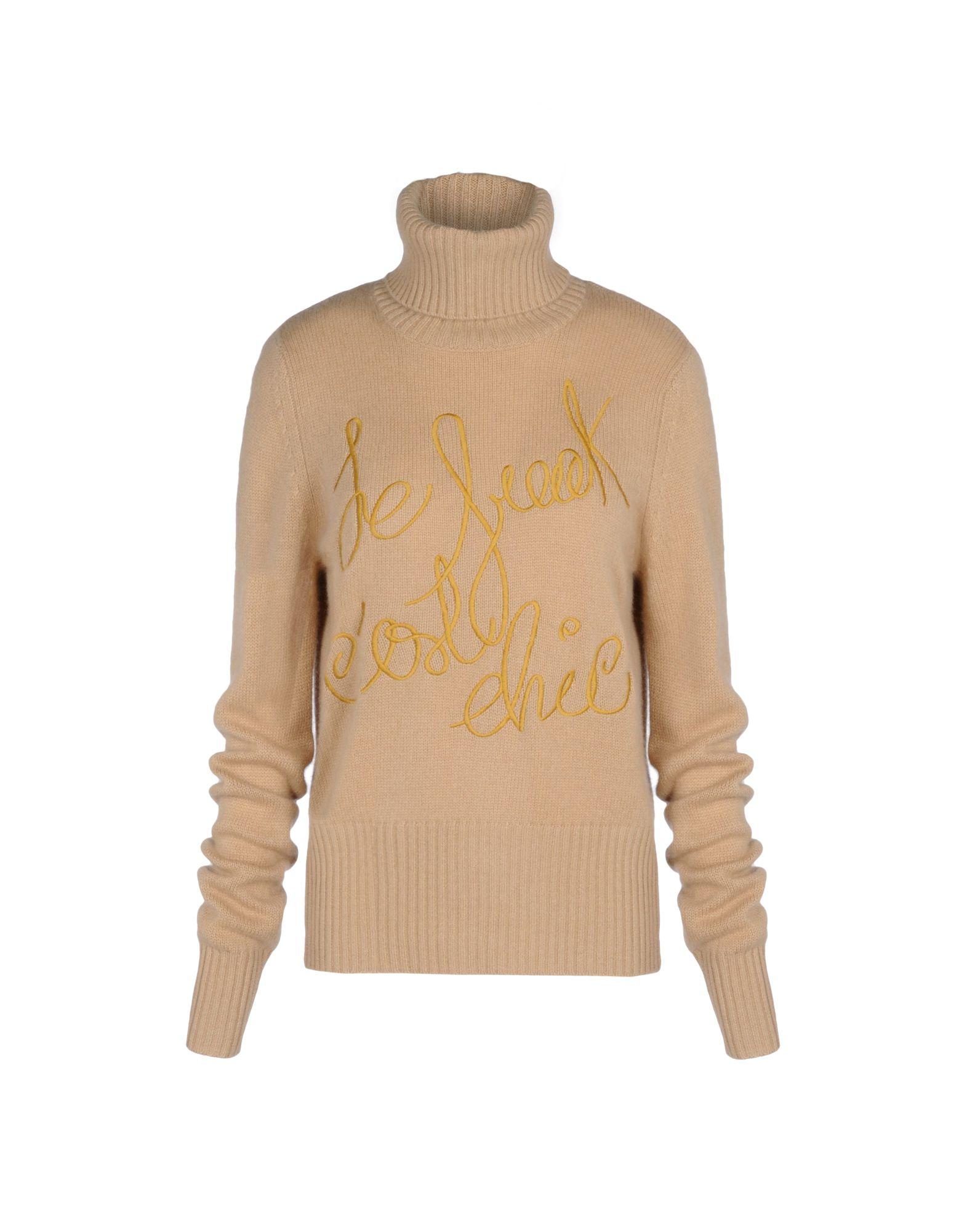 BEAYUKMUI Long Sleeve Sweater in Beige