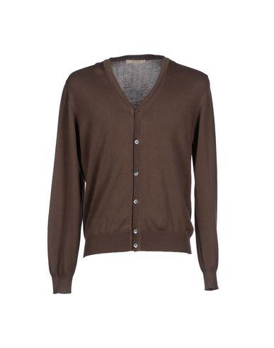 Купить Мужской кардиган ALPHA STUDIO темно-коричневого цвета