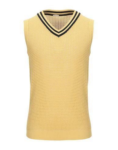 Фото - Мужской свитер MASSIMO ALBA желтого цвета