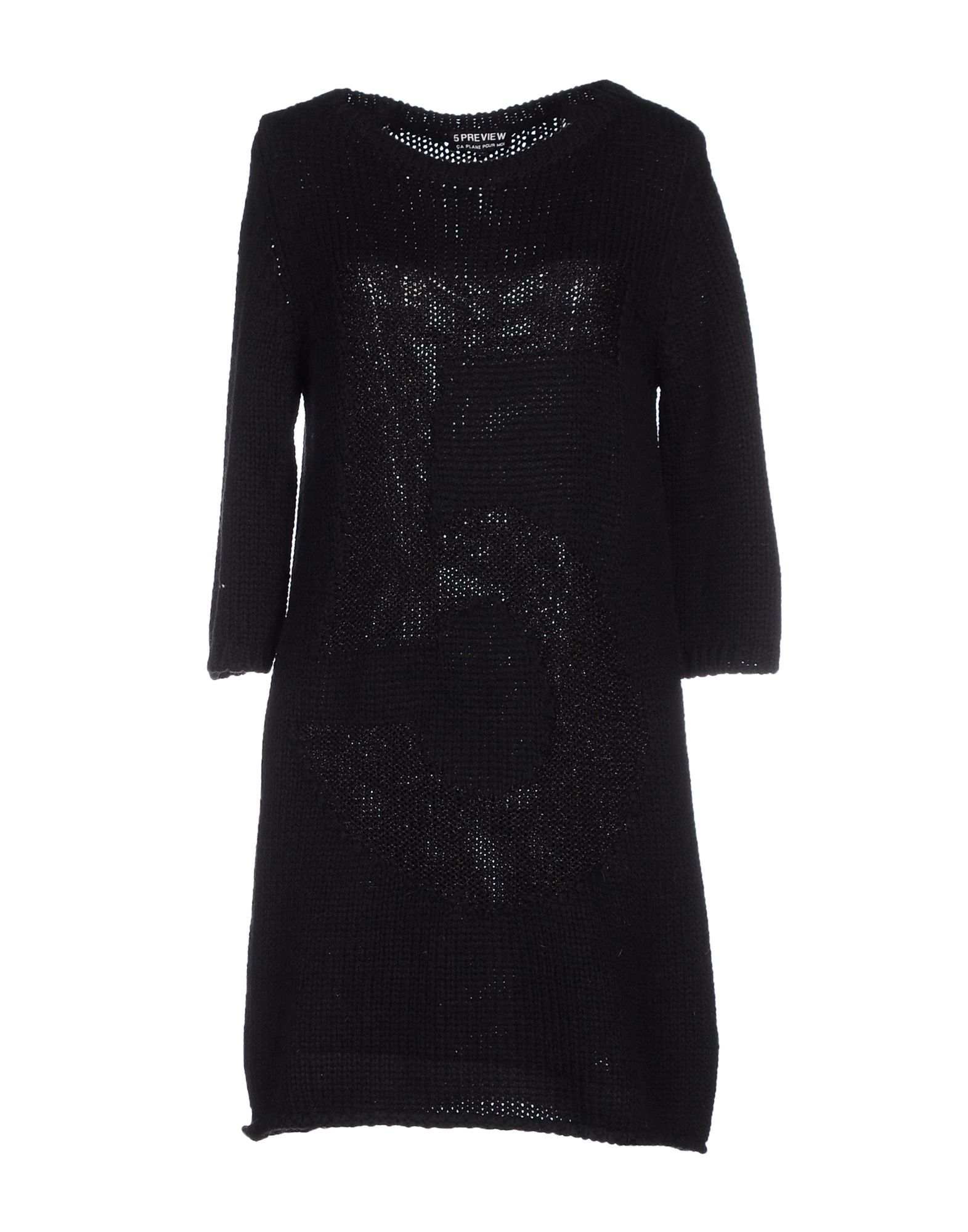 5PREVIEW Короткое платье вязаное платье