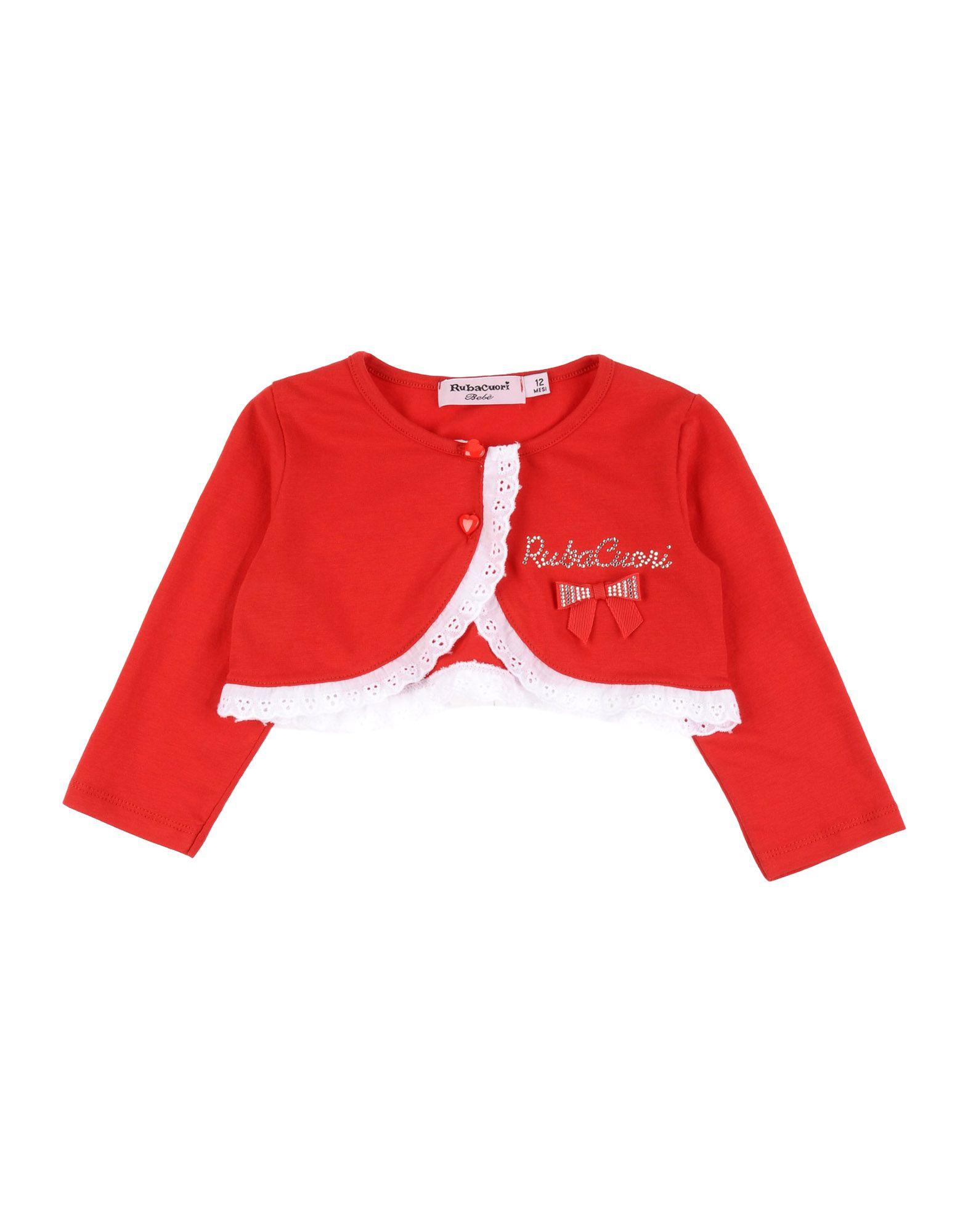 RUBACUORI BEBE´ Mädchen 0-24 monate Strickjacke Farbe Rot Größe 6