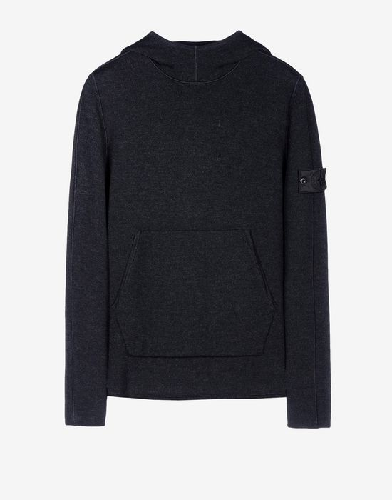 508a3 hoody wo chenille long sleeve jumper stone island men official online store. Black Bedroom Furniture Sets. Home Design Ideas