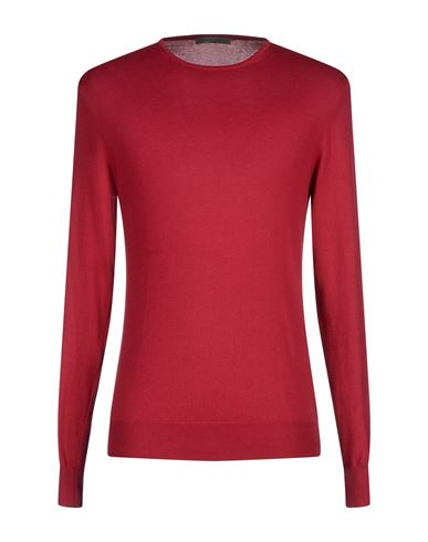 Фото - Мужской свитер BECOME красно-коричневого цвета
