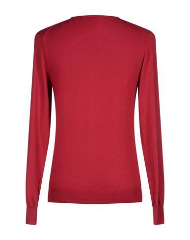 Фото 2 - Мужской свитер BECOME красно-коричневого цвета