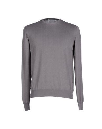 Фото - Мужской свитер ALPHA STUDIO свинцово-серого цвета