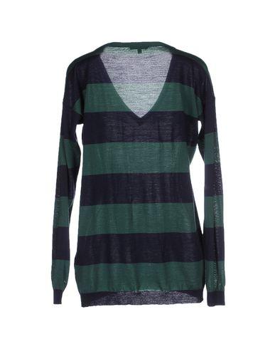 Фото 2 - Женский свитер  зеленого цвета