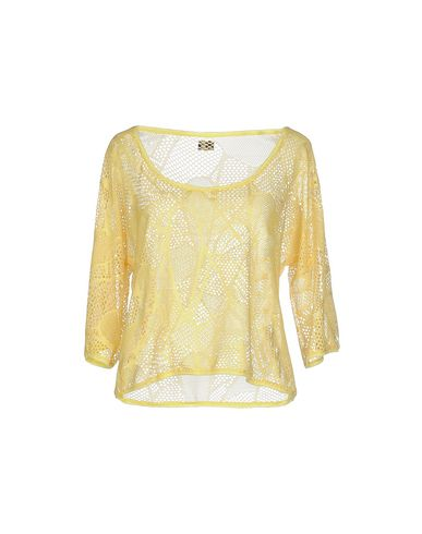 Фото - Женский свитер F**K PROJECT желтого цвета