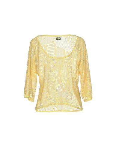Фото 2 - Женский свитер F**K PROJECT желтого цвета