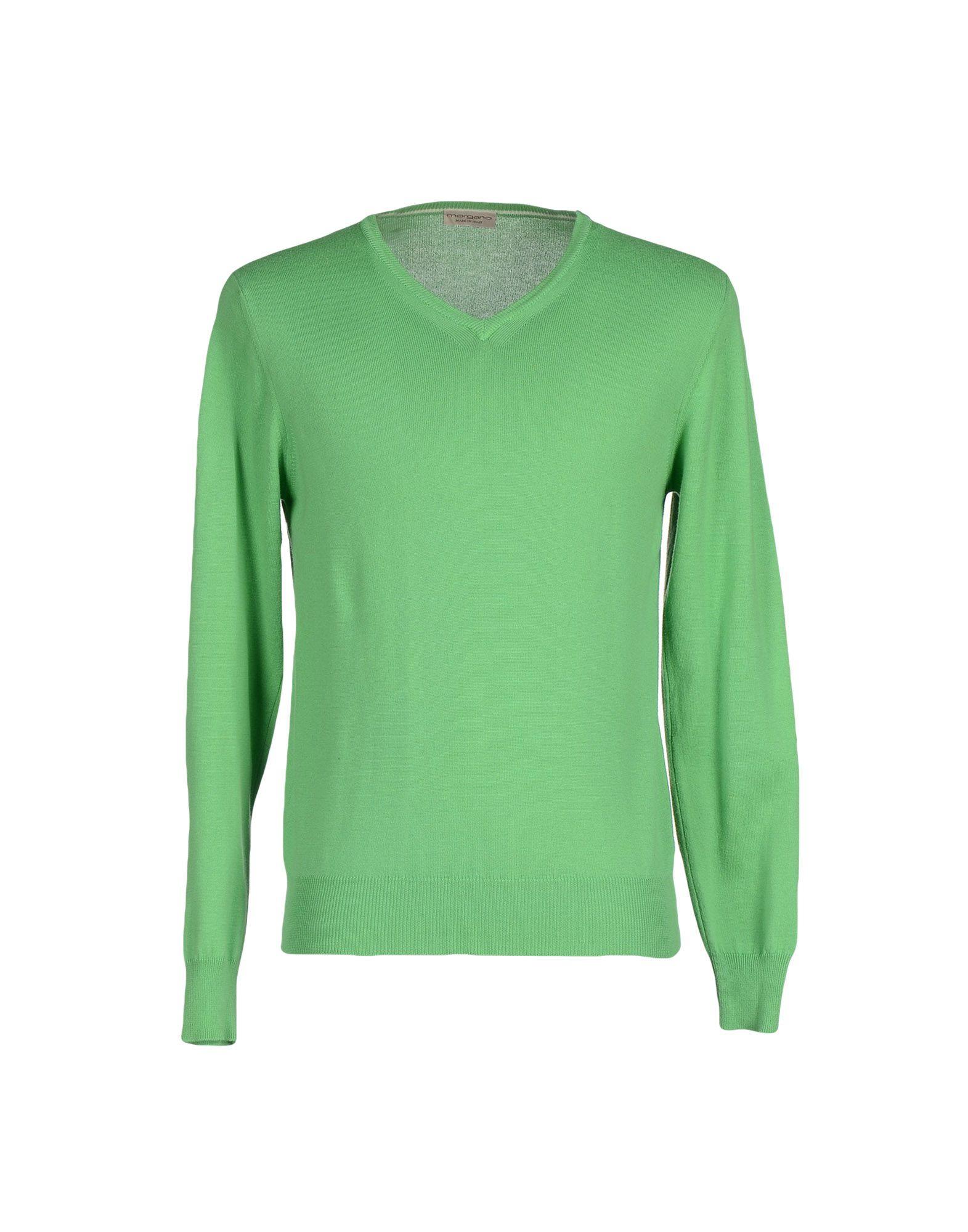 MORGANO Sweater in Light Green