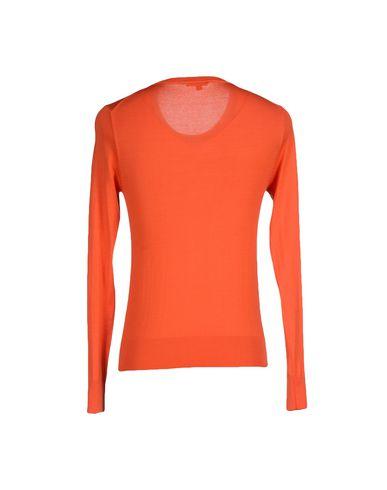 Фото 2 - Мужской свитер BRIAN DALES оранжевого цвета