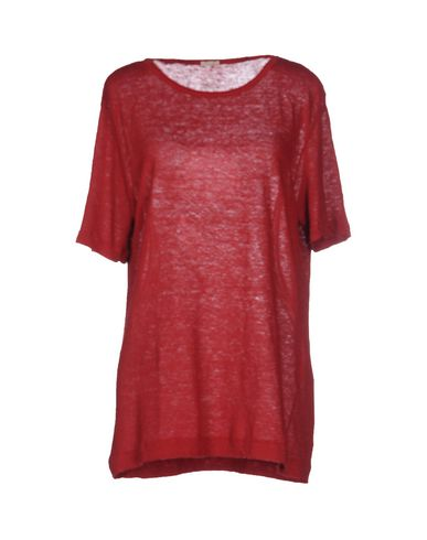 Фото - Женский свитер MASSIMO ALBA кирпично-красного цвета