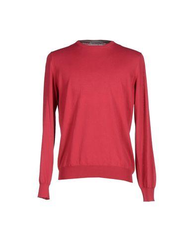 Фото - Мужской свитер LA FILERIA цвет пурпурный