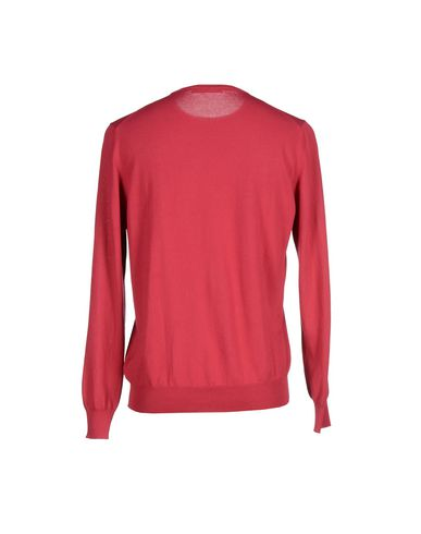Фото 2 - Мужской свитер LA FILERIA цвет пурпурный