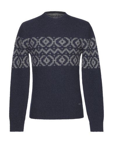 Купить Мужской свитер  темно-синего цвета