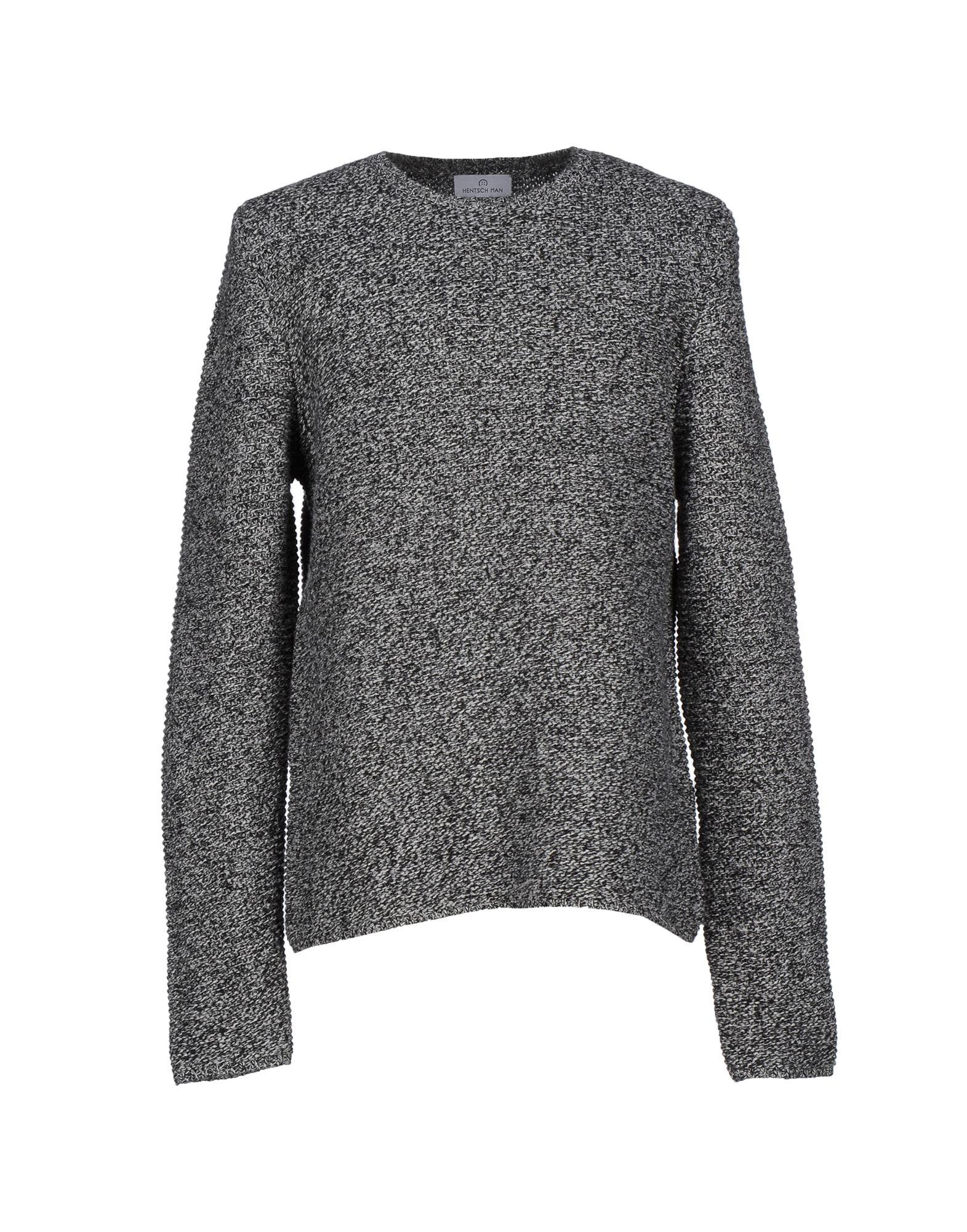 HENTSCH MAN Sweaters in Grey