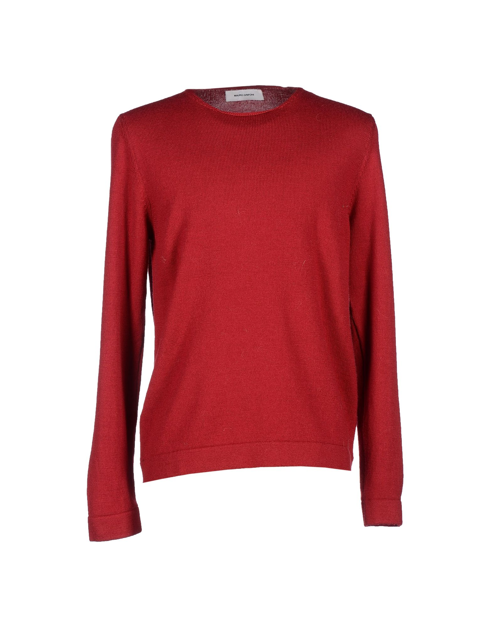 MAURO GRIFONI Red Wool Sweater