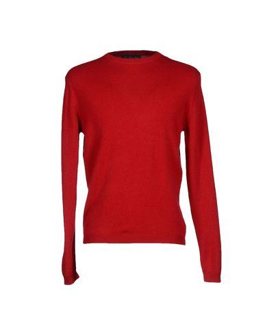 Фото - Мужской свитер DAVID SADDLER красного цвета
