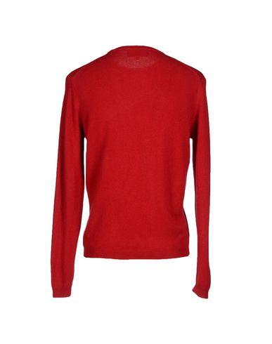 Фото 2 - Мужской свитер DAVID SADDLER красного цвета