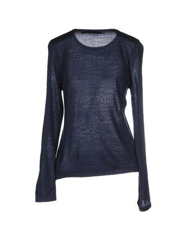 Фото 2 - Женский свитер ANONYME DESIGNERS темно-синего цвета