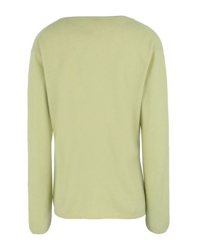 Фото 2 - Женский свитер  кислотно-зеленого цвета