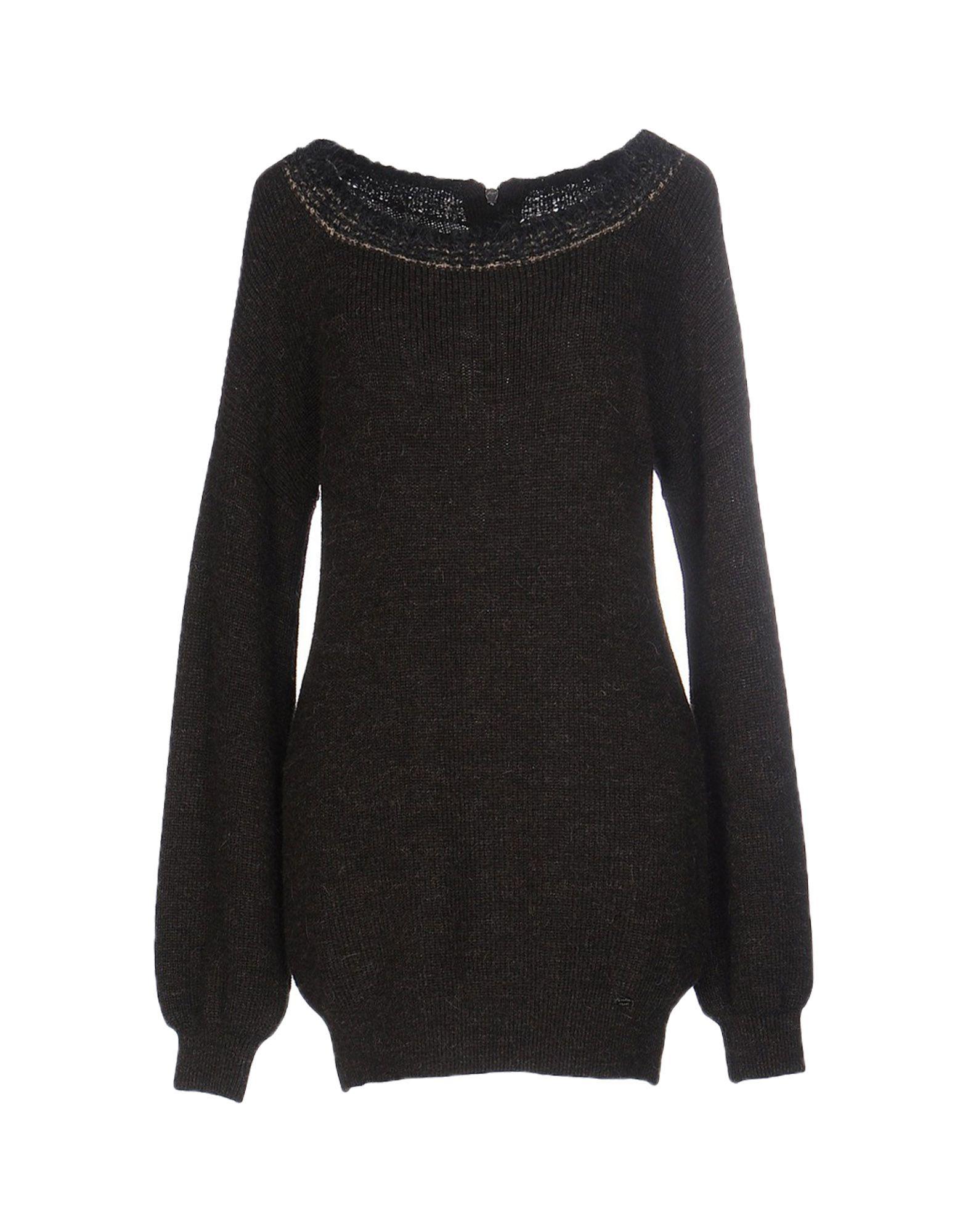 SCERVINO STREET Sweater in Dark Brown