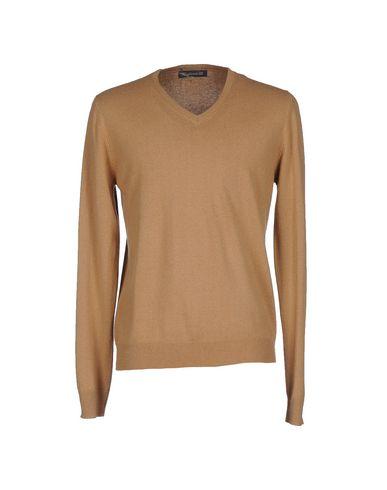 Фото - Мужской свитер MAGLIERIA 42 цвет песочный