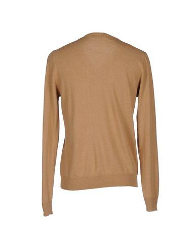 Фото 2 - Мужской свитер MAGLIERIA 42 цвет песочный