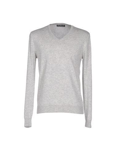 Фото - Мужской свитер MAGLIERIA 42 светло-серого цвета