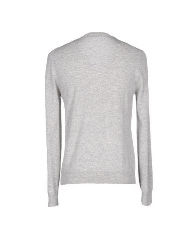 Фото 2 - Мужской свитер MAGLIERIA 42 светло-серого цвета