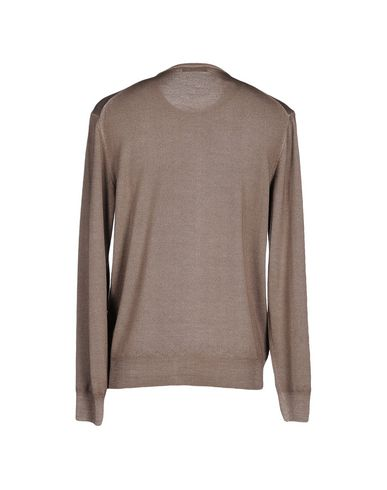 Фото 2 - Мужской свитер IL CLAN цвет голубиный серый