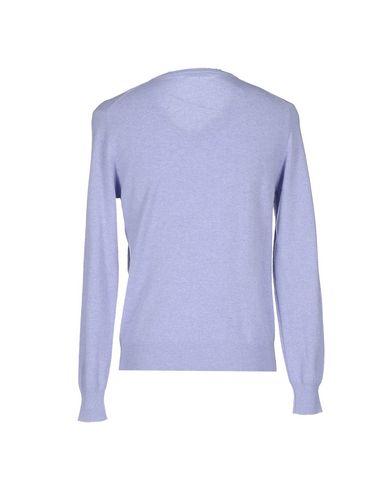 Фото 2 - Мужской свитер FILIPPO DE LAURENTIIS сиреневого цвета