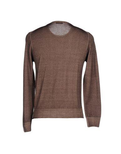 Фото 2 - Мужской свитер ALBE темно-коричневого цвета