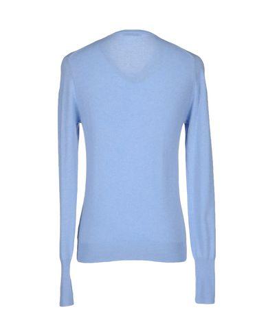 Фото 2 - Мужской свитер  небесно-голубого цвета