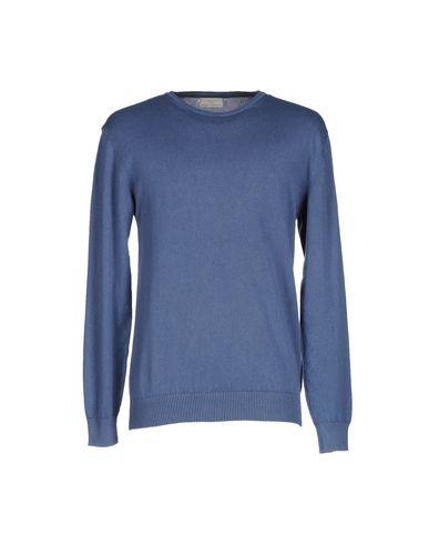 Фото - Мужской свитер  грифельно-синего цвета