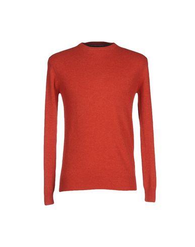 Фото - Мужской свитер  ржаво-коричневого цвета