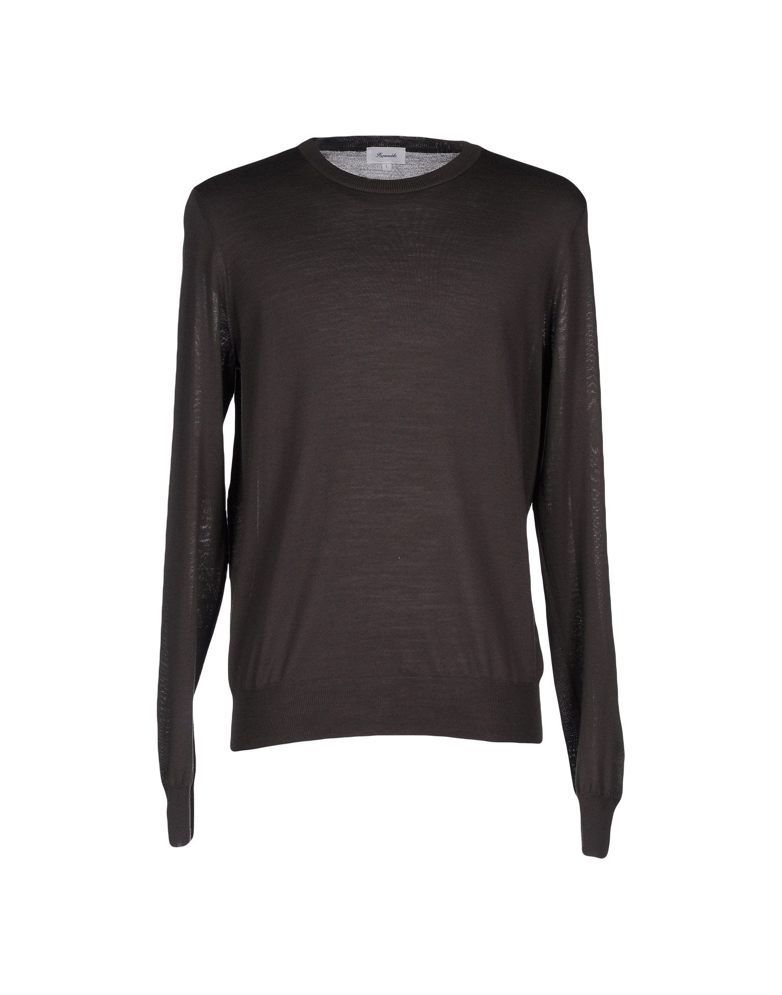 FAÇONNABLE Sweater in Dark Brown