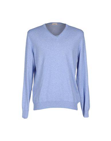 Фото - Мужской свитер  небесно-голубого цвета