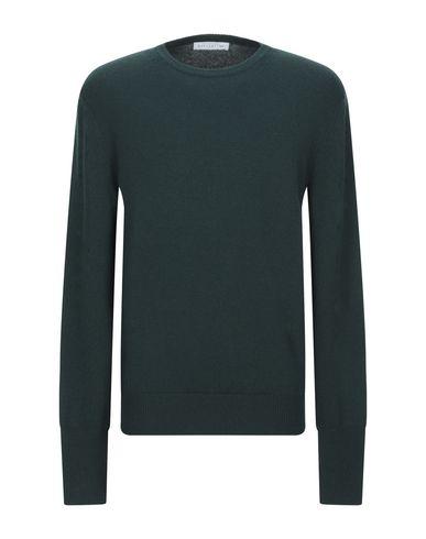 Купить Мужской свитер  темно-зеленого цвета