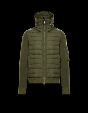Lined jumper Military green Category Lined jumpers Man
