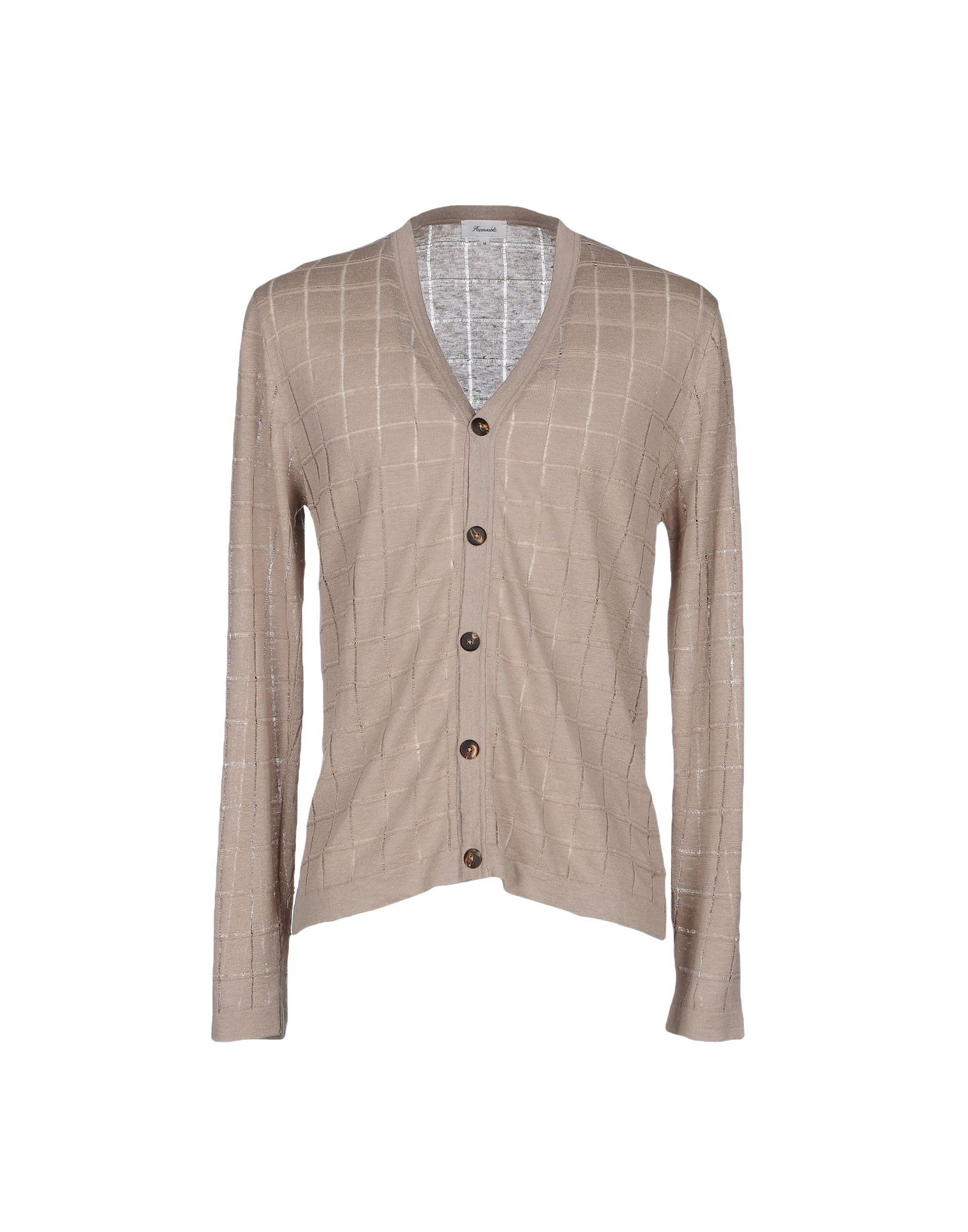 FAÇONNABLE Cardigan in Sand