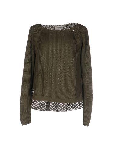 Фото - Женский свитер SONIA DE NISCO цвет зеленый-милитари