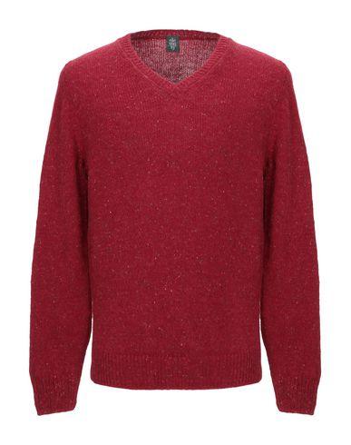 Фото - Мужской свитер ELEVENTY красного цвета