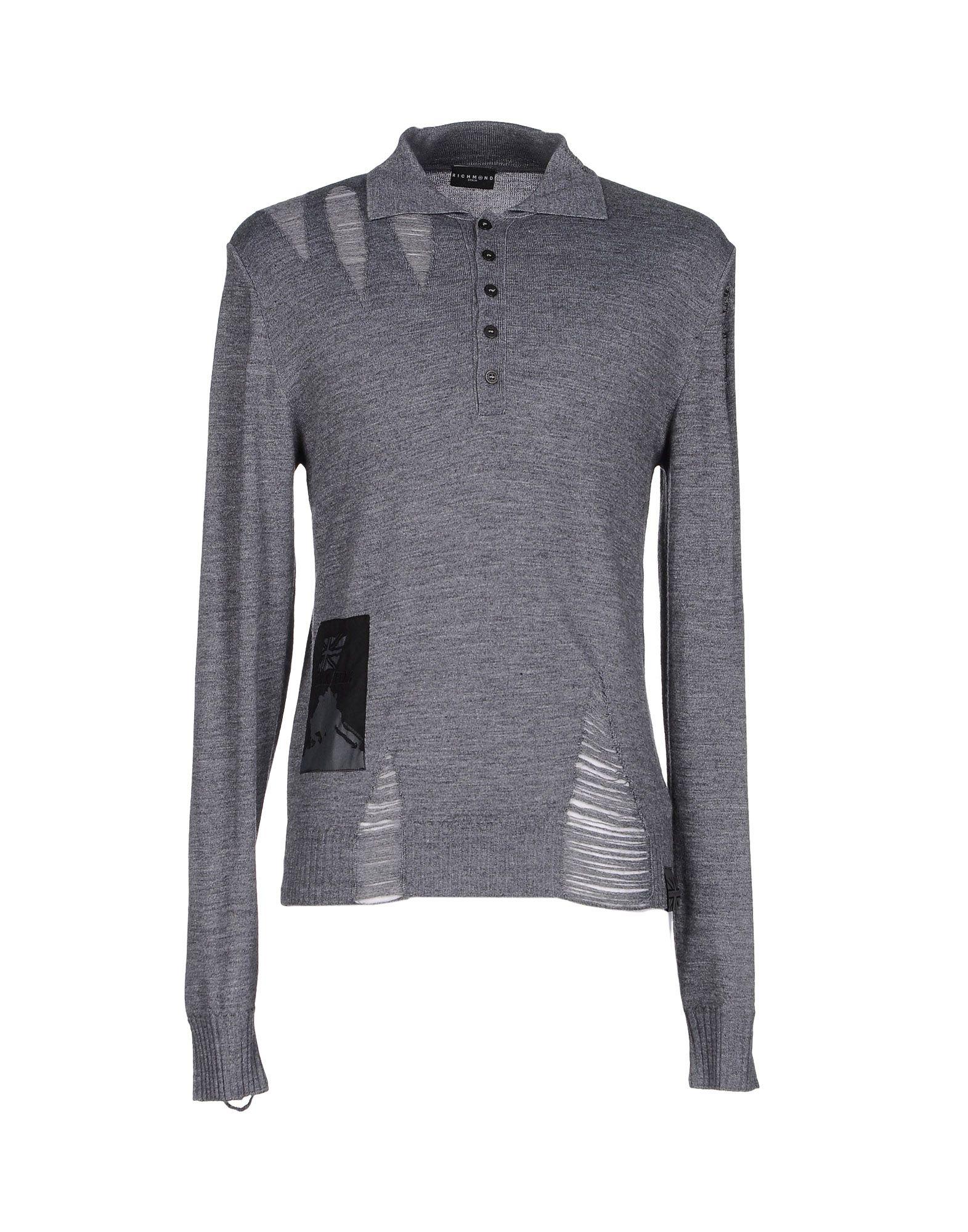 RICHMOND DENIM Sweater in Lead
