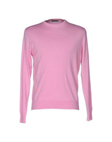 Фото - Мужской свитер FILIPPO DE LAURENTIIS розового цвета